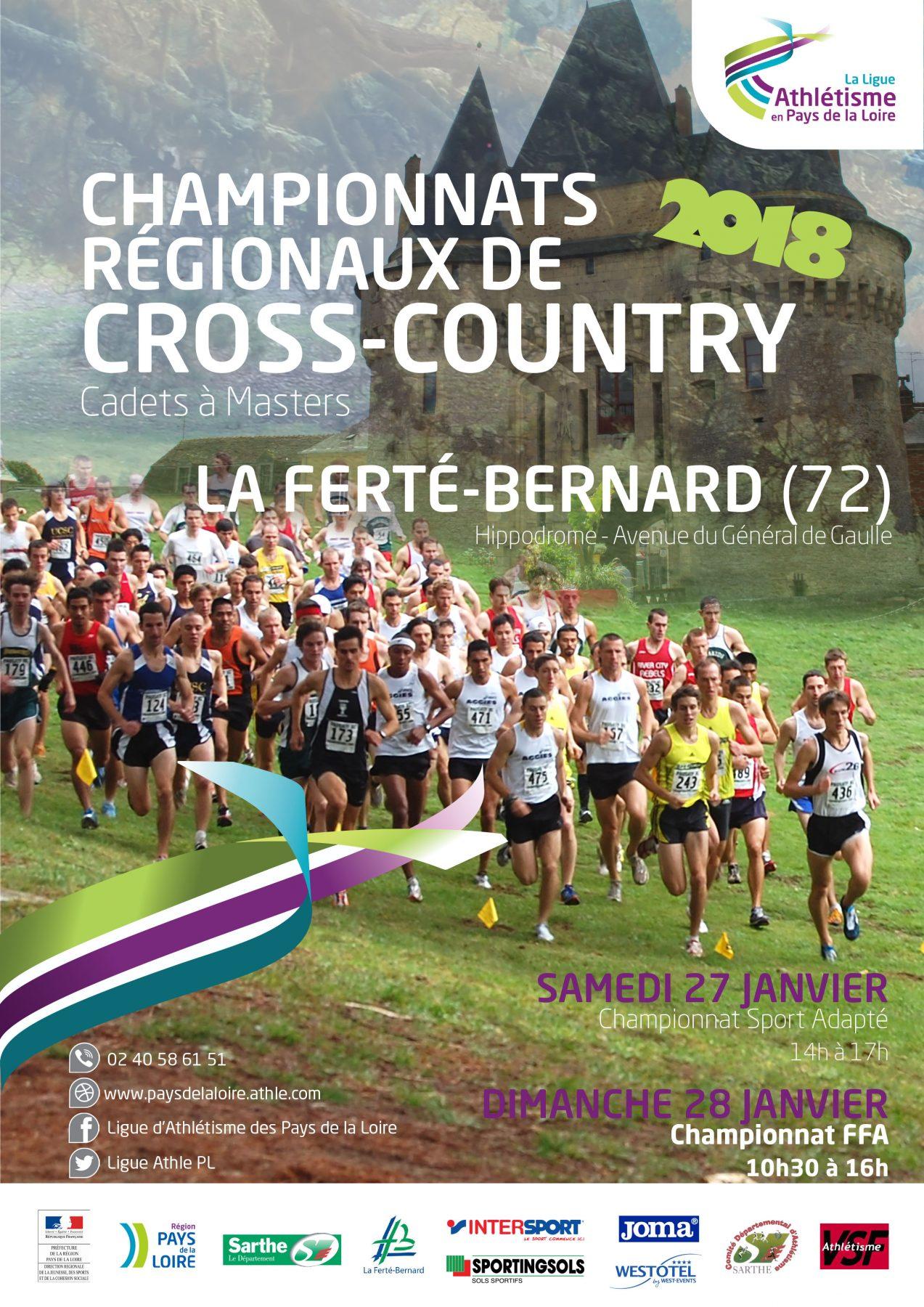 Championnats régionaux de cross-country