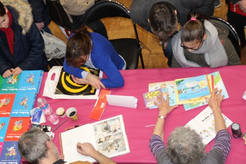 Beaucoup de monde pour la 9e édition du Festival du Livre Jeunesse