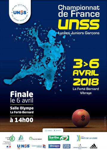 Championnat de France UNSS Handball : l'équipe du lycée jouera à domicile