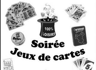 SOIREE JEUX DE CARTES