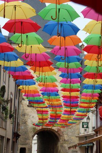 Les parapluies font leur grand retour
