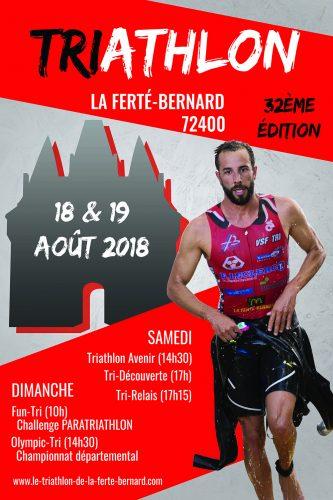 Week-end Triathlon, les 18 et 19 août