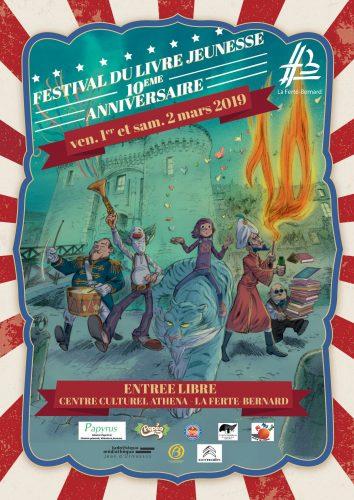 Le Festival du Livre fête ses 10 ans !