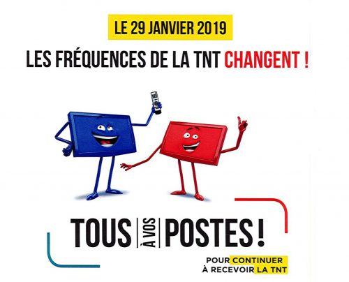 TNT : changement de fréquences