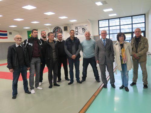 Centre des Arts Martiaux : une nouvelle salle d'entraînement