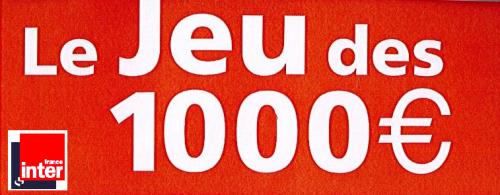 JEU DES 1 000 €