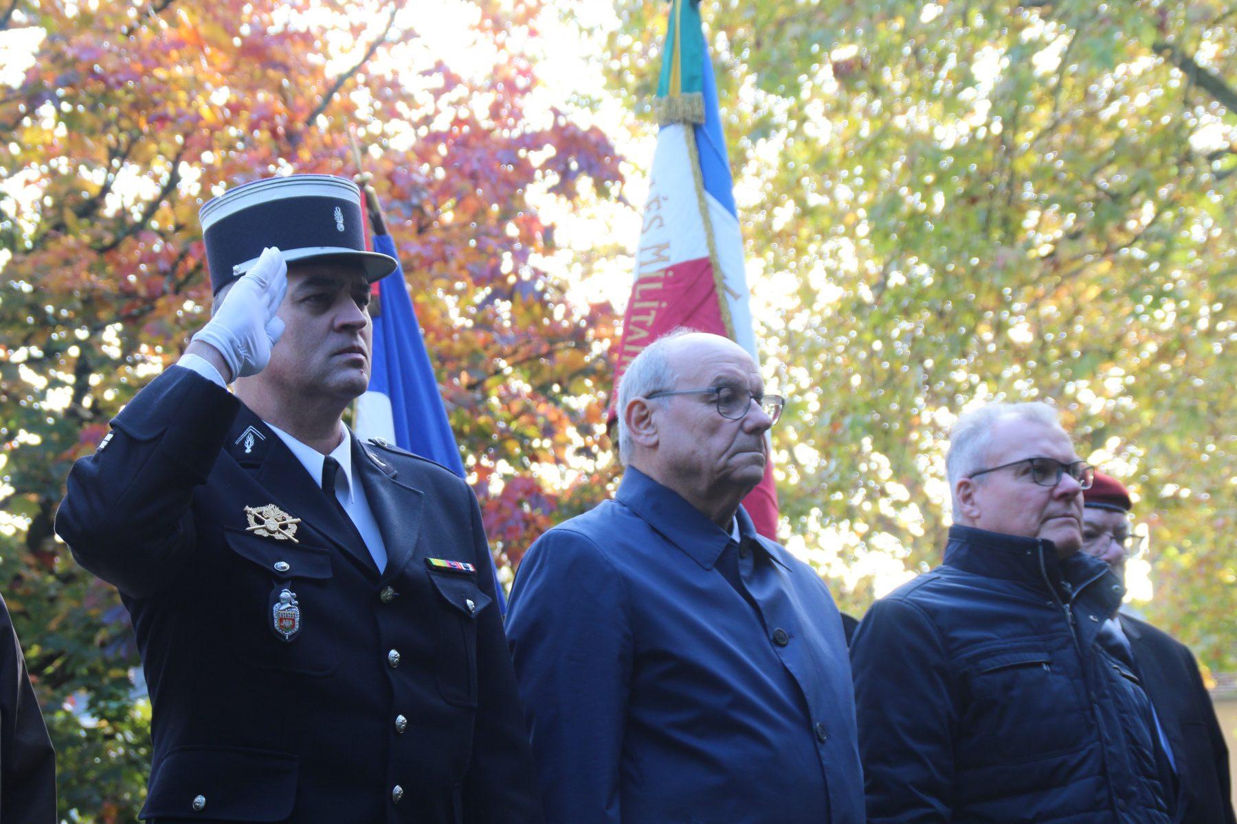 Beaucoup de Fertois pour la commémoration du 11 novembre