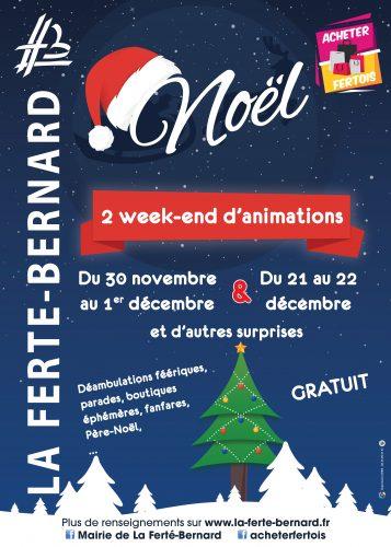 Noël : 2 week-end d'animations