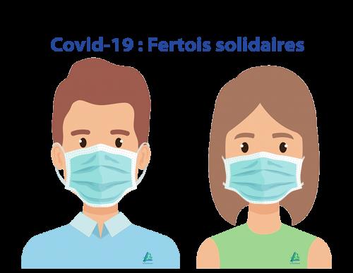 Covid-19 : Fertois solidaires