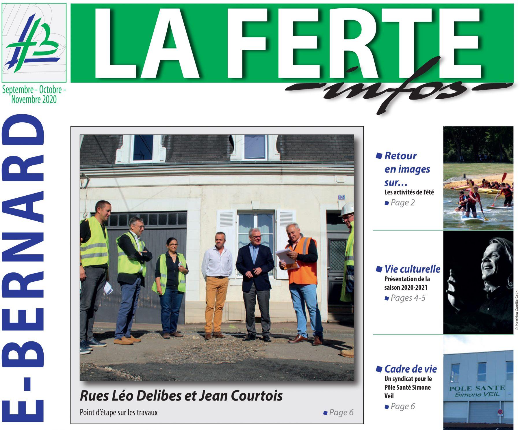 Distribution du «La Ferte Infos»