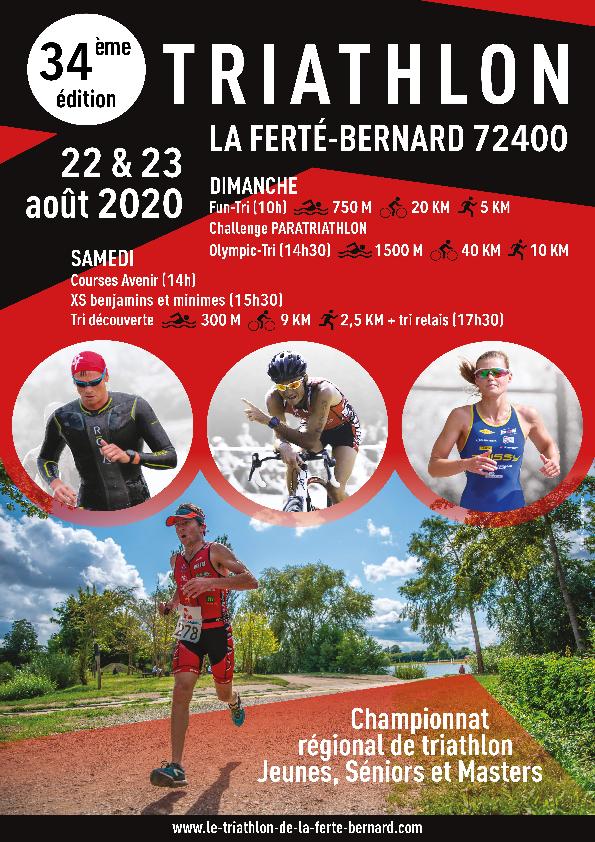 Annulation 34ème édition du Triathlon