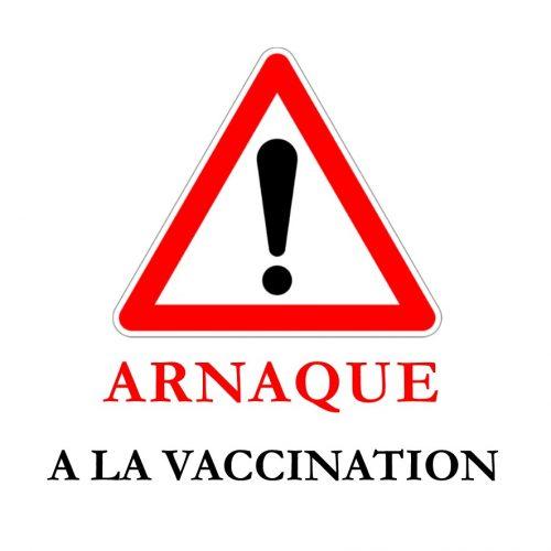 Attention : arnaque à la vaccination