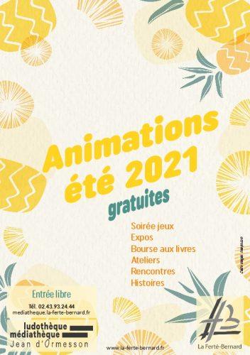 Animations estivales de la médiathèque