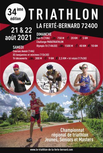 34e Triathlon en août