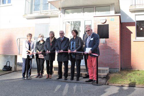 Inauguration de la pension de famille l'Envol